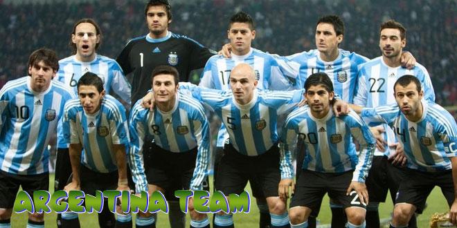 Argentina – Argentinos rinktinė, komanda