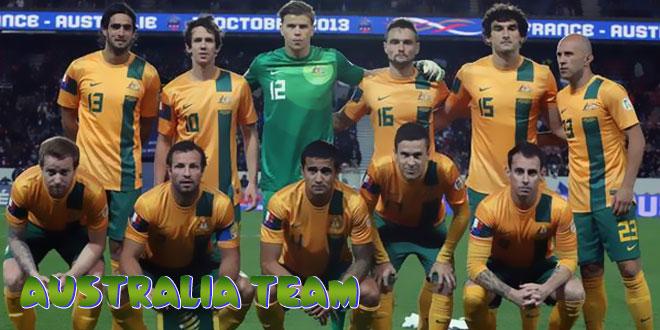Australija – Australijos rinktinė, komanda