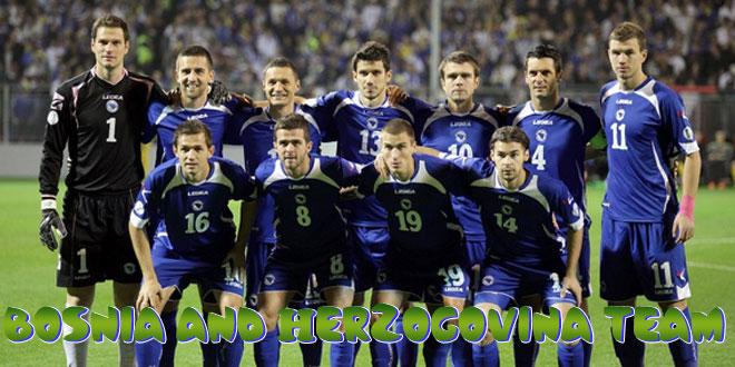 Bosnija ir Hercegovina -Bosnijos ir Hercegovinos rinktinė, komanda