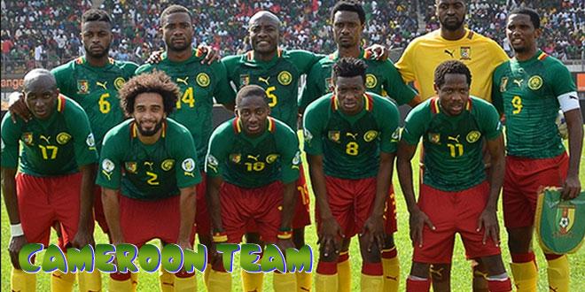 Kamerūnas – Kamerūno rinktinė, komanda