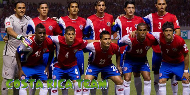 Kosta Rika – Kosta Rikos rinktinė, komanda