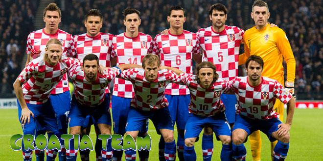 Kroatija – Kroatijos rinktinė, komanda
