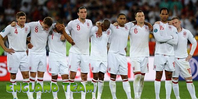 Anglija – Anglijos rinktinė, komanda