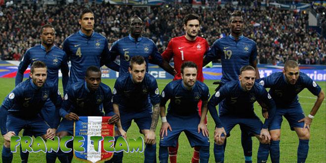 Prancūzija – Prancūzijos rinktinė, komanda
