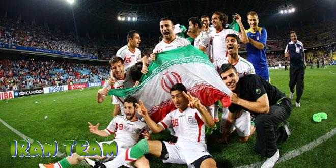 Iranas – Irano rinktinė, komanda