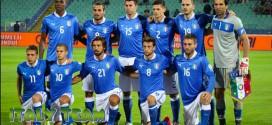 Italija 1 – 1 Liuksemburgas, draugiškos rungtynės