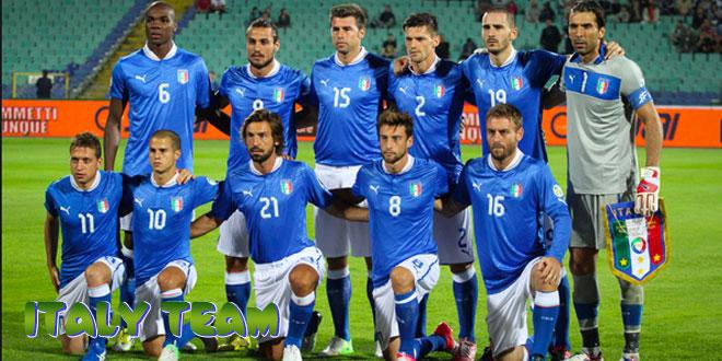 Italija – Italijos rinktinė, komanda