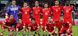 Šveicarija – Šveicarijos rinktinė, komanda