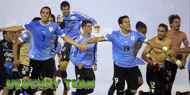 Urugvajus – Urugvajaus rinktinė, komanda