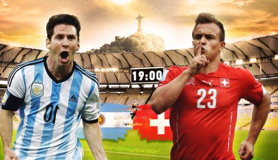 Argentina 1 – 0 Šveicarija. Trims minutėms likus iki baudynių, Di Maria išvedė Argentinos ekipą į priekį (video)