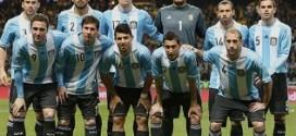 Argentina 2 – 0 Slovėnija, draugiškos rungtynės