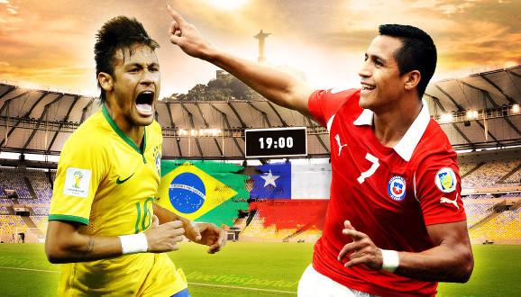 Brazilija patenka į kitą etapą. Brazilija 1 – 1 Čilė. 11 metrų baudiniai (video)