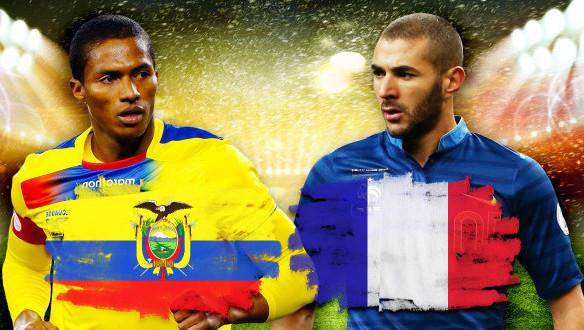 Ekvadoras 0 – 0 Prancūzija. Prancūzija susirinkusi 7 taškus vyksta į kitą etapą