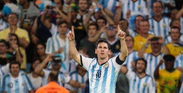 Sunkiai ištempta Argentinos pergalė prieš Irano rinktinę 1:0 (video)