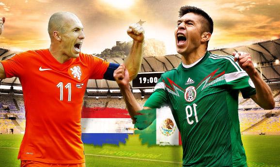 Olandija 2 – 1 Meksika. Europos komanda tęsia kovą, Meksika važiuoja namo (video)