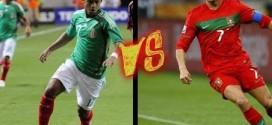 Meksika 0 – 1 Portugalija, draugiškos rungtynės