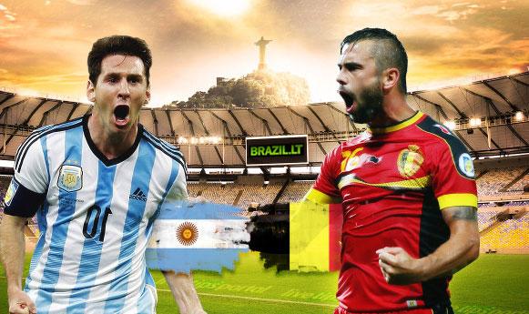Argentina 1 – 0 Belgija. Argentina po 24 metų patenka į Pasaulio čempionato pusfinalį (video)