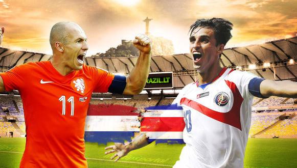 Olandija 0 [4 – 3] 0 Kosta Rika. Prireikė baudinių išsiaiškinti kuri ekipa patenka į kitą etapą (video)