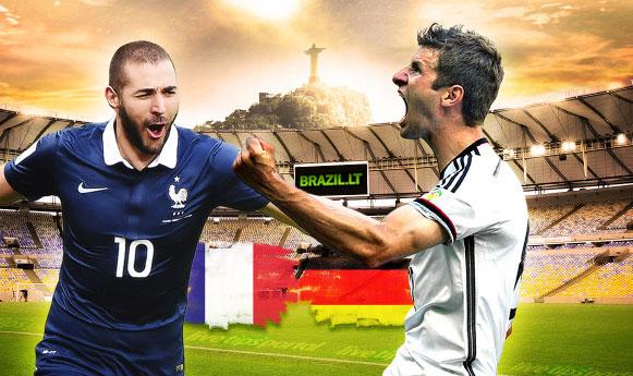 Prancūzija 0 – 1 Vokietija. Vokietija tęsia kovą, ir keliauja į pusfinalį (video)